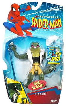 Spectacular Spider-Man: Tail Slash Lizard