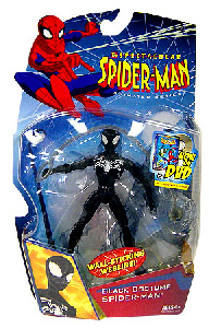 Spectacular Spider-Man: Wall-Sticking Webline Black Costume Spider-Man