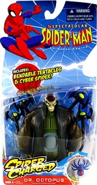 Spectacular Spider-Man: Spider Charged Dr Octopus with Bendable Tentacles