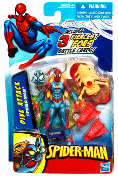 3.75-Inch Dive Attack Spider-Man