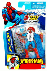 3.75-Inch Arctic Attack Spider-Man