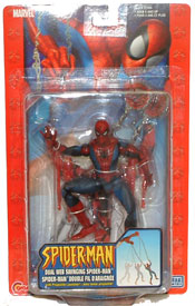 Dual Web Swinging Spider-Man