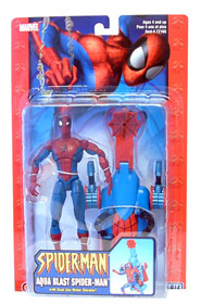 Aqua Blast Spider-Man - Damage package
