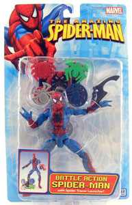 The Amazing  Spider-Man - Battle Action Spider-Man