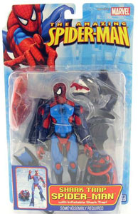 Shark Trap Spider-Man