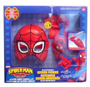 Spider Power Dress-up Set
