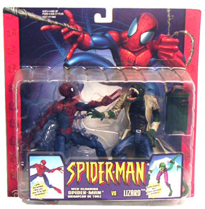 Spiderman Vs The Lizard 2 - Pack - DAMAGED PACKAGE
