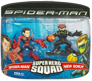 Super Hero Squad: Spider-Man and New Goblin