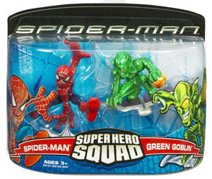 Super Hero Squad: Spider-Man and Green Goblin