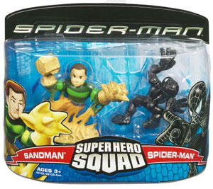 Super Hero Squad: Spider-Man and Sandman