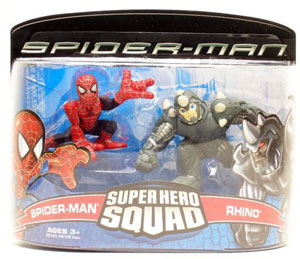 Super Hero Squad: Spider-Man and Rhino