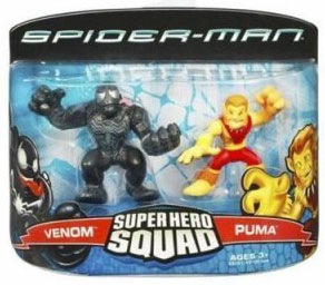 Super Hero Squad: Venom and Puma
