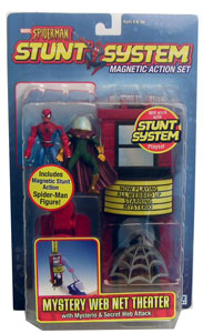 Spiderman Stunt - Mystery Web Net Theatre Mysterio