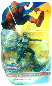 Spiderman Trilogy - Black-Suited Spiderman Sandman Battling Action