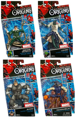 Origins - Villain Series 1 Set of 4