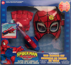 Electronic Web Slinger Dress-Up Set