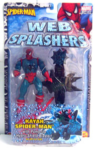 Web Splashers - Kayak Spider-Man