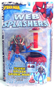 Web Splashers - Scuba Splash Spiderman