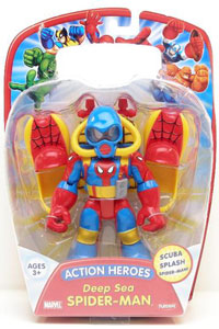 Action Heroes - Deep Sea Spiderman