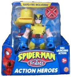 Rapid Fire Wolverine