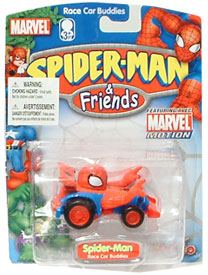 Spider-Man Race Car Buddies