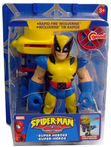 Spiderman & Friends - Rapid Fire Wolverine