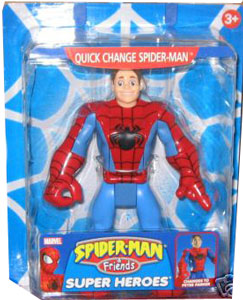 Spiderman & Friends - Quick Change Spider-Man