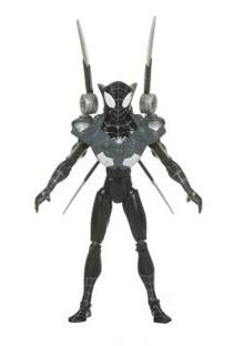 Spectacular Spider-Man: Black Costume Spider-Man wih Spider Charged Armor
