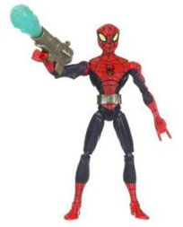Spectacular Spider-Man: Spider-Man with Snap On Web Blaster