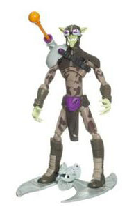 Spectacular Spider-Man: Green Goblin with Feature Glider