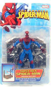 Super-kick Spider-Man