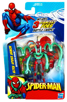 3.75-Inch Spider-Man with Ultra Armor