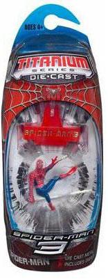 Spider-Man 3 - 3-Inch Titanium - Spider-Man