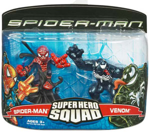 Super Hero Squad: Spider-Man and Venom