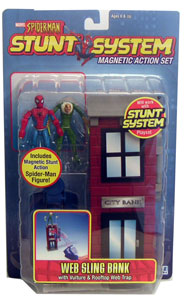 Spiderman Stunt - Web Sling Bank with Vulture