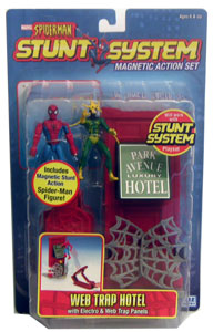 Spiderman Web Trap Hotel with Electro