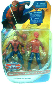 Spiderman Trilogy - Spiderman with Wrestling Gears