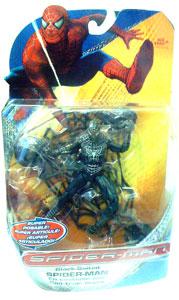 Spiderman Trilogy - Black-Suited Spiderman Super Poseable