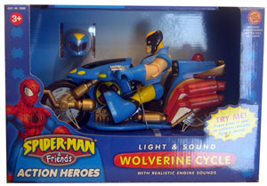 Playskool - Wolverine Cycle