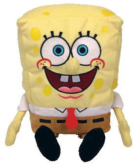 7-Inch SpongeBob Squarepants Beanie Baby