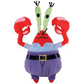 7-Inch SpongeBob - Mr Krabs Beanie Baby