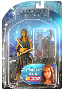 Exclusive Athosian Teyla