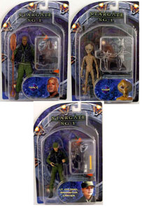 Stargate SG-1 Series 2 Set of 3