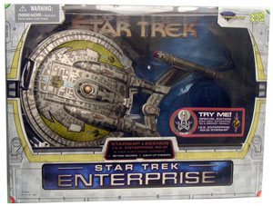 Enterprise NX-01 Starship