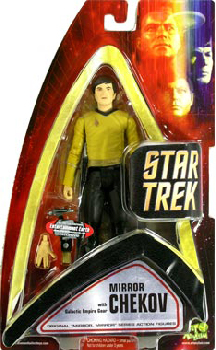 TOS: Mirror Chekov Exclusive