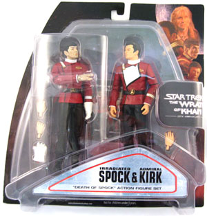 Wrath Of Khan 2-Pack: Irradiated Spock and Admiral Kirk