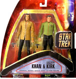 Space Seed Kirk and Kahn Two-Pack