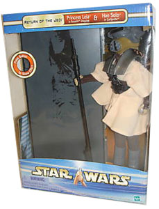12-Inch Leia in Boushh Disguise with Han Solo Carbonite