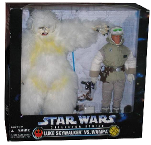 12-Inch Collectors Series Wampa Vs Luke Skywalker