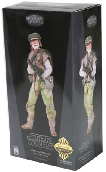 Sideshow Collectibles Militaries Of Star Wars 12-Inch The Nik Saint - Endor Rebel Commando Pathfinder
